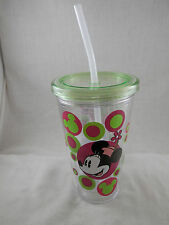 Disney Parks Minnie Mouse Insulated Travel Cup Mug Bubbles  NWT