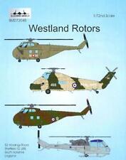 Blackbird Decals 1/72 Westland Rotors British Helicopters