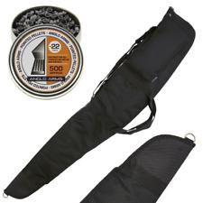 k Padded Olive Green Rifle /& Scope Gun Bag Shotgun Slip Case With Sling