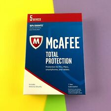McAfee Total Protection MTP17EAM5RAA for 5 Devices #6225