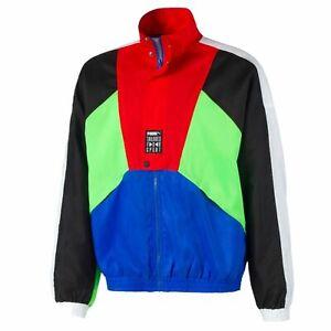 Puma Tailored For Sport OG Track Jacket Blue Black Red Green White Active Wear
