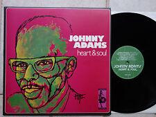 Johnny Adams – Heart & Soul   Vinyl LP   Vampi Soul – VAMPI 054  Reissue TOPP