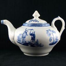 "THEIERE Faïence JULES VIEILLARD BORDEAUX ""Tonkin"" teapot/thé/digoin/japon/19EME"