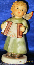 "GOEBEL HUMMEL ANGEL FIGURINE, ""ANGEL W/ACCORDIAN"", HUM 2135/M, 4.25"", HBV $220"