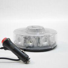 Gyrophare 10W led rotatif et flash magnétique 12V LED BLEU