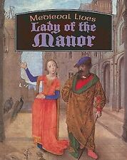 Lady of the Manor (Medieval Lives)-ExLibrary