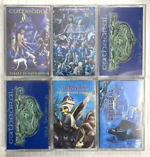 CATHEDRAL - Cassette Tape Lot 6x - Metal Doom - Rare Titles!!!