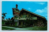 Anaheim, CA - ROADSIDE CHALET STEAK & PANCAKE HOUSE RESTAURANT  - POSTCARD - G2