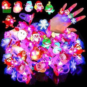 Toys Flashing Ring Luminous Rings Light Up Ring Christmas Rings LED Rings