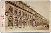 Milano Ospedale Maggiore Foto Cabinet originale all'albumina Brogi 1875c S1443