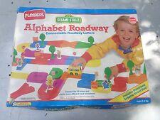 VINTAGE PLAYSKOOL ALPHABET ROADWAY SESAME STREET 1989 LETTERS TRACK TESTED