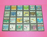 ⭐⭐ LOT OF 24 ⭐⭐ TESTED WORKING NINTENDO DS GAMES ⭐⭐⭐⭐⭐⭐⭐⭐⭐⭐⭐⭐⭐⭐⭐⭐⭐⭐⭐⭐⭐⭐⭐⭐⭐⭐⭐⭐⭐