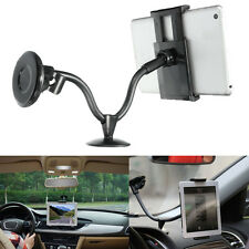 "2in1 In Car Windscreen Mobile Mount Holder Stand For Cellphone GPS 7""-10"" Tablet"