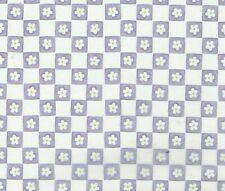 Over The Moon Press Purple Daisy Checkers 12x12 Paper ~ Vellum