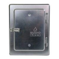 KaminoFlam Chimney Access Door - Soot Door in Steel - Chimney Hatch - Lockable C