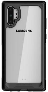 Clear Galaxy Note 10, Note 10 Plus Case with Metal Bumper Ghostek Atomic Slim