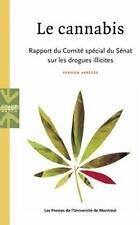 le cannabis   rapport du comité spécial du Sénat sur les drogues illicites