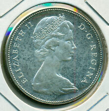 1967 CANADA SILVER DOLLAR, TONED PROOFLIKE BRILLIANT UNCIRCULATED, GREAT PRICE!