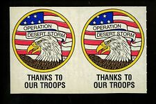 Military Operation Desert Storm Stickers Novelty Gulf War