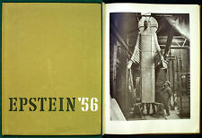 Jacob Epstein: Epstein 1956. A Camera Study of the Sculptor at Work. 1956 Signed