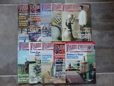 10 issue lot Farm Collector Magazine January - December 2001 missing Mar & Oct