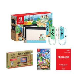 Nintendo Switch Console Animal Crossing: New Horizons Edition + Pokemon Snap