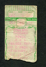 Bob Dylan 1975 Rolling Thunder Concert Ticket Stub Waterbury Blood On The Tracks