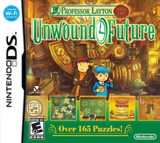 Professor Layton and the Unwound Future NDS New Nintendo DS