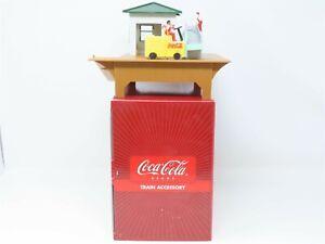 O Scale K-Line K-01246 Coca-Cola Barrel Loader Train Accessory