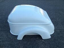 Mullins trailer pedal car hot rod stroller fiberglass body rat rod 1/4 scale