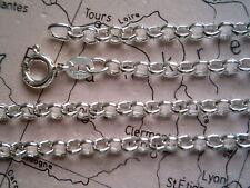 Fußkette Silber 925 Erbskette 24 cm x 3 mm, Silber Fußkette Erbskette 24 cm