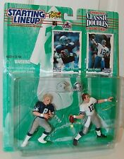 NFL Starting Lineup 1997 Classic Doubles Troy Aikman Roger Staubach Football
