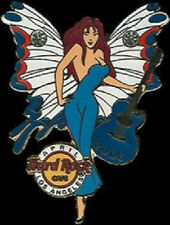 Hard Rock Cafe LOS ANGELES April 2006 Butterfly Birthstone FAIRY Girl PIN #4/12
