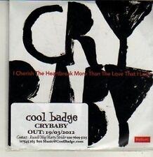 (CQ892) Crybaby, I Cherish The Heartbreak More Than The Love ... - 2012 DJ CD
