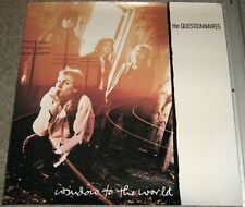 Ultra Rare THE QUESTIONNAIRES promo-only POSTER 24x24 Window to the World 1989
