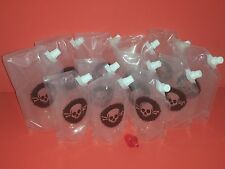 PoisonPack Plastic Flask 12 multi pack  Cruises, Runners, Rum, Events, Concerts