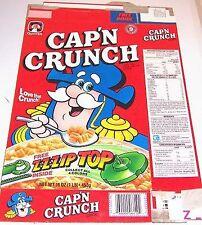 1992 Cap'n Crunch Cereal Box dd021 n