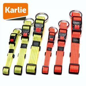 Karlie Halsband ART SPORTIV PLUS REFLEX - gelb & orange Nylon Hundehalsband