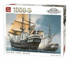 1000 Piece History Collection Jigsaw Puzzle-Taking Lady Grace Pirates 05619