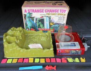 Vintage 1967 Mattel The Lost World Strange Change Machine In Box Tested Working