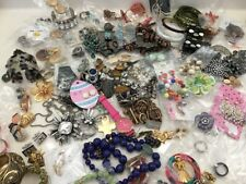 💎 ESTATE VINTAGE TO NOW JEWELRY LOT NO JUNK  20 PCS EARRINGS RINGS NECKLACES