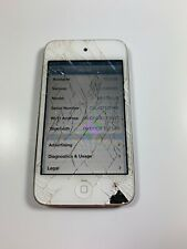 iPod 4th Gen A1367 16GB Wifi - CRACKED GLASS - IPOD ONLY - ROUGH SHAPE - AS IS