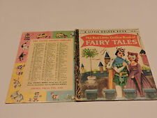 THE RED LITTLE GOLDEN BOOK OF FAIRY TALES 236:30 vintage SYDNEY William J Dugan