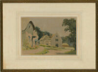 Victor Wyatt Burnand (1868-1940) - 1934 Watercolour, East Hendred