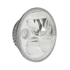 Vision X 5 3/4in. Single Round Chrome Vortex LED Headlight With Halo - XMC-575RD
