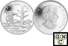 2011 'Canadian Boreal Forest' Proof $10 Silver .9999 Fine (12909)