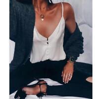 Women's Sexy Chiffon Vest Top Sleeveless Casual Tank Blouse Summer Tops T-Shirt