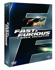 Dvd FAST Y FURIOUS - Collection 1-7 (Caja 7 Discos) NUEVO