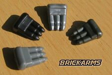 Brickarms Ammo Clip Accessory for Lego Minifigures (5 Pack) Black