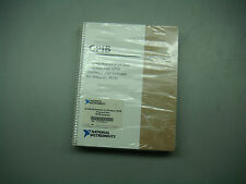 National Inst 777178E-01, 500739A-00 NI-488.2M W/ Manual and Software CD  #TQ134
